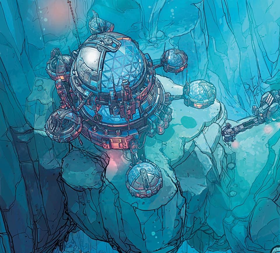 Une base sous-marine de TIME Stories : Le Projet Hadal