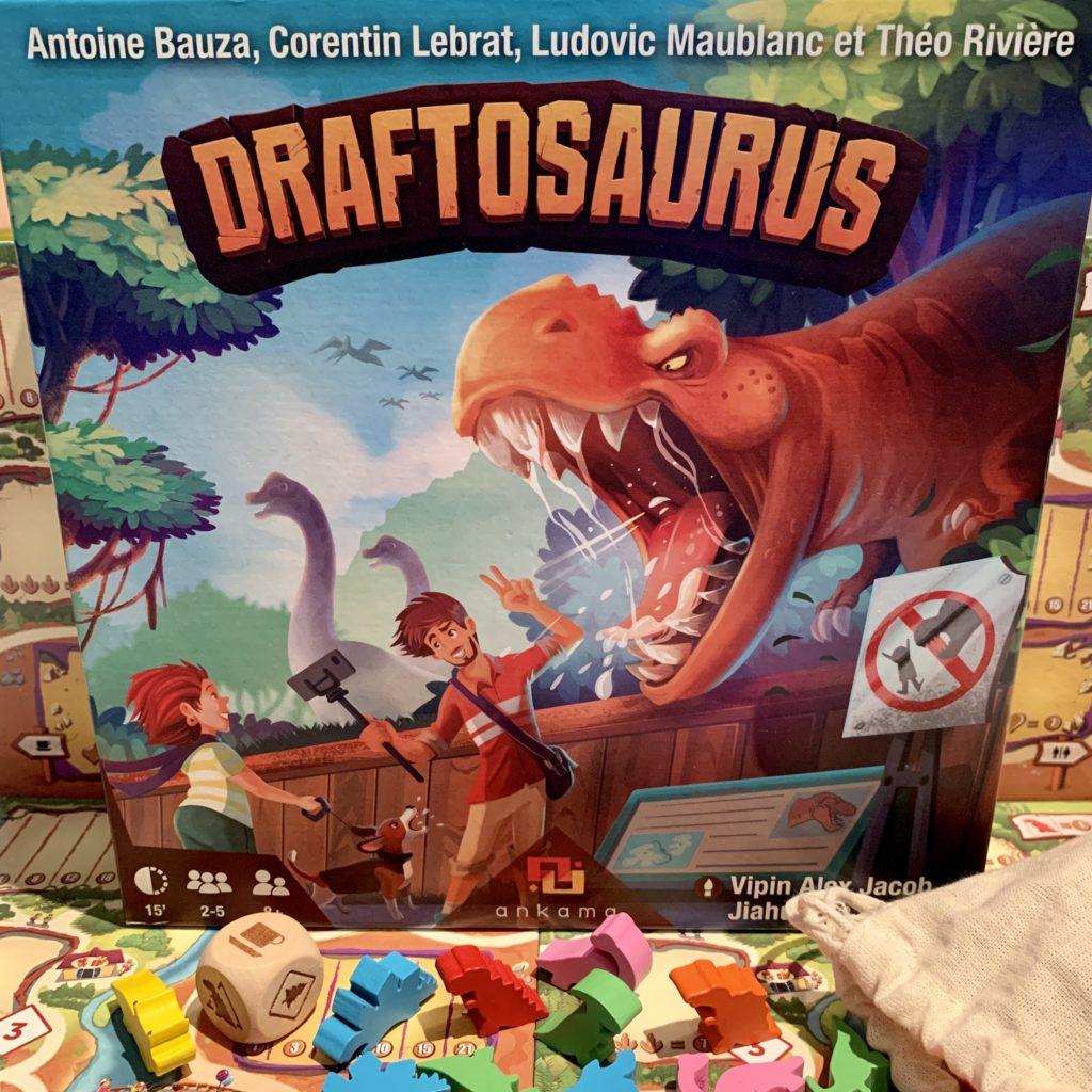 Draftosaurus - Boite et matériel