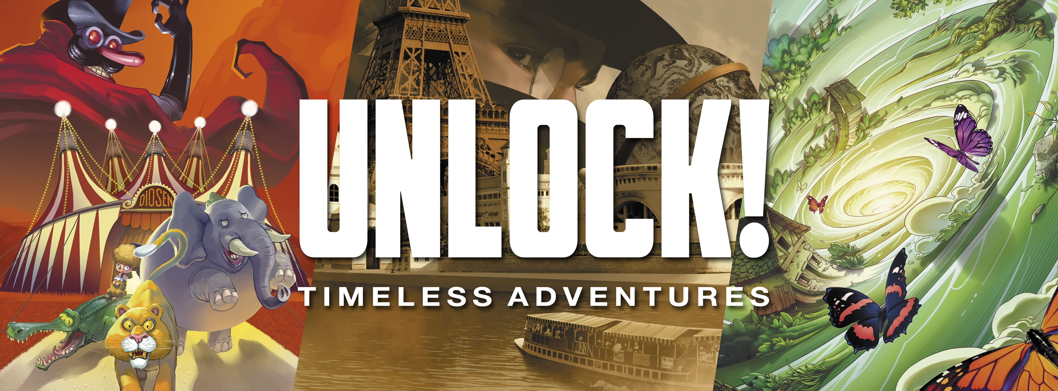 Unlock! Timeless Adventures arrive