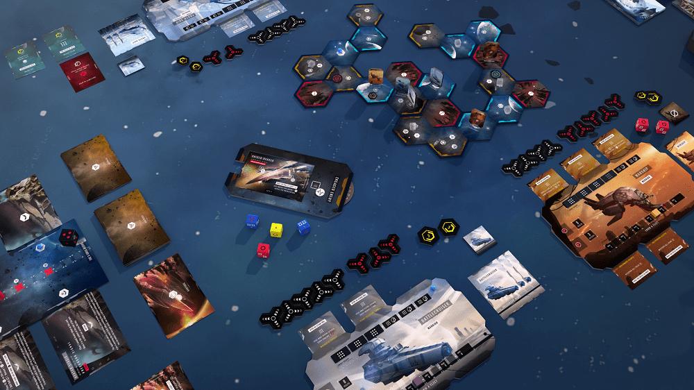 X-ODUS Aperçu de la zone de jeu