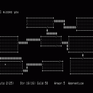 Rogue, le jeu vidéo original de 1980