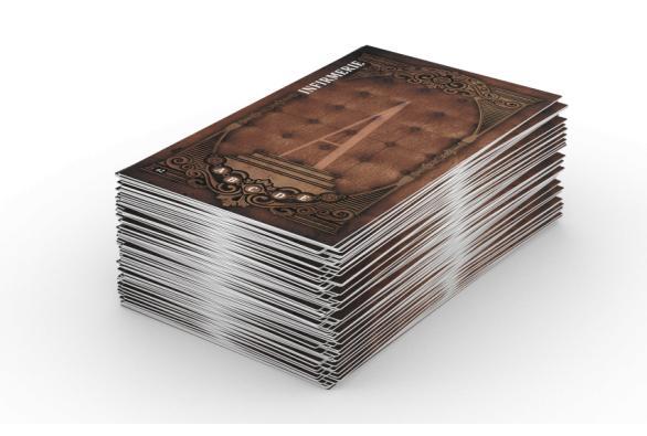 Un paquet de cartes