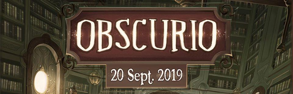 Obscurio arrive le 20 septembre 2019