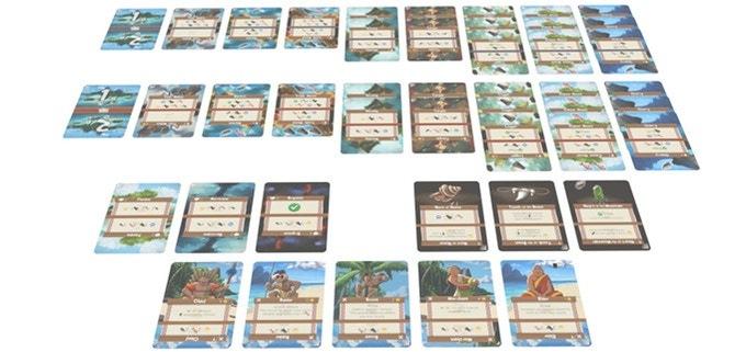 Toutes les cartes du jeu