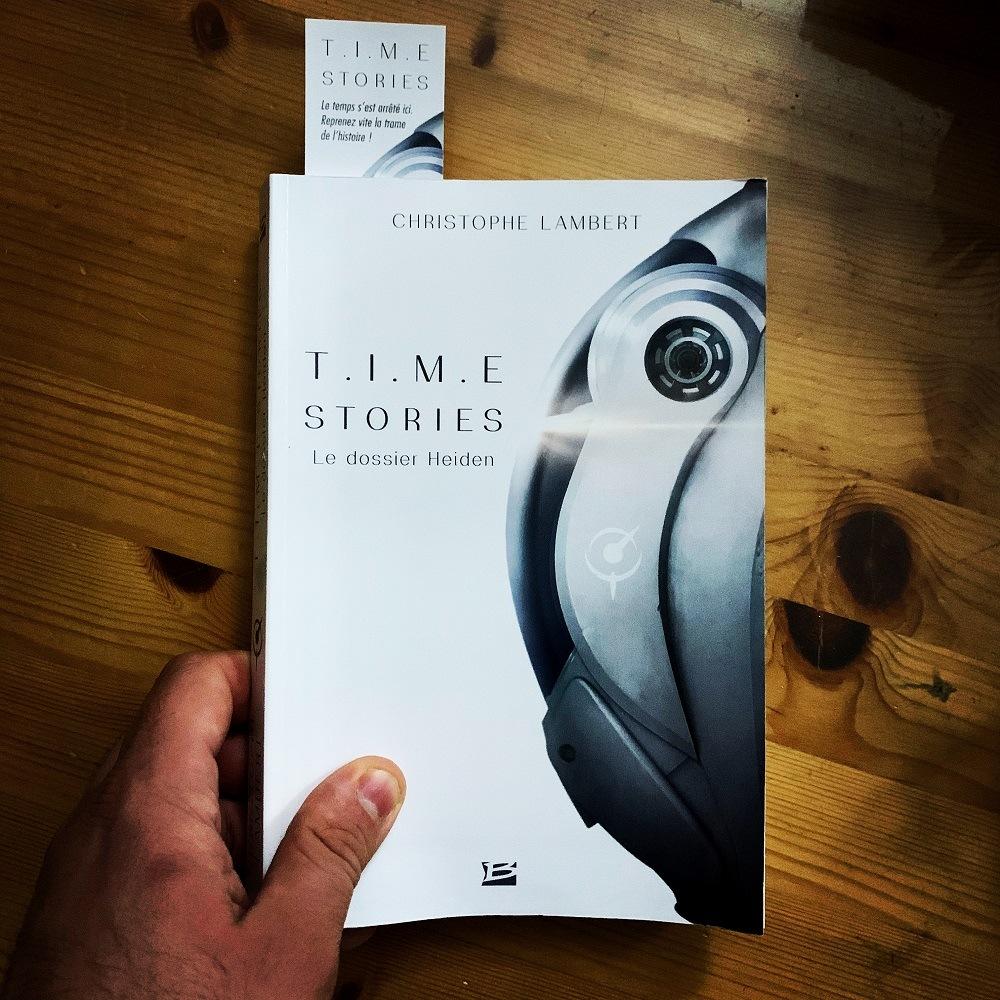 TIME Stories, le roman