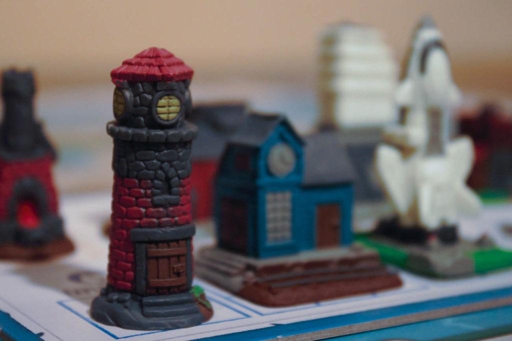 Le phare, et d'autres Monuments
