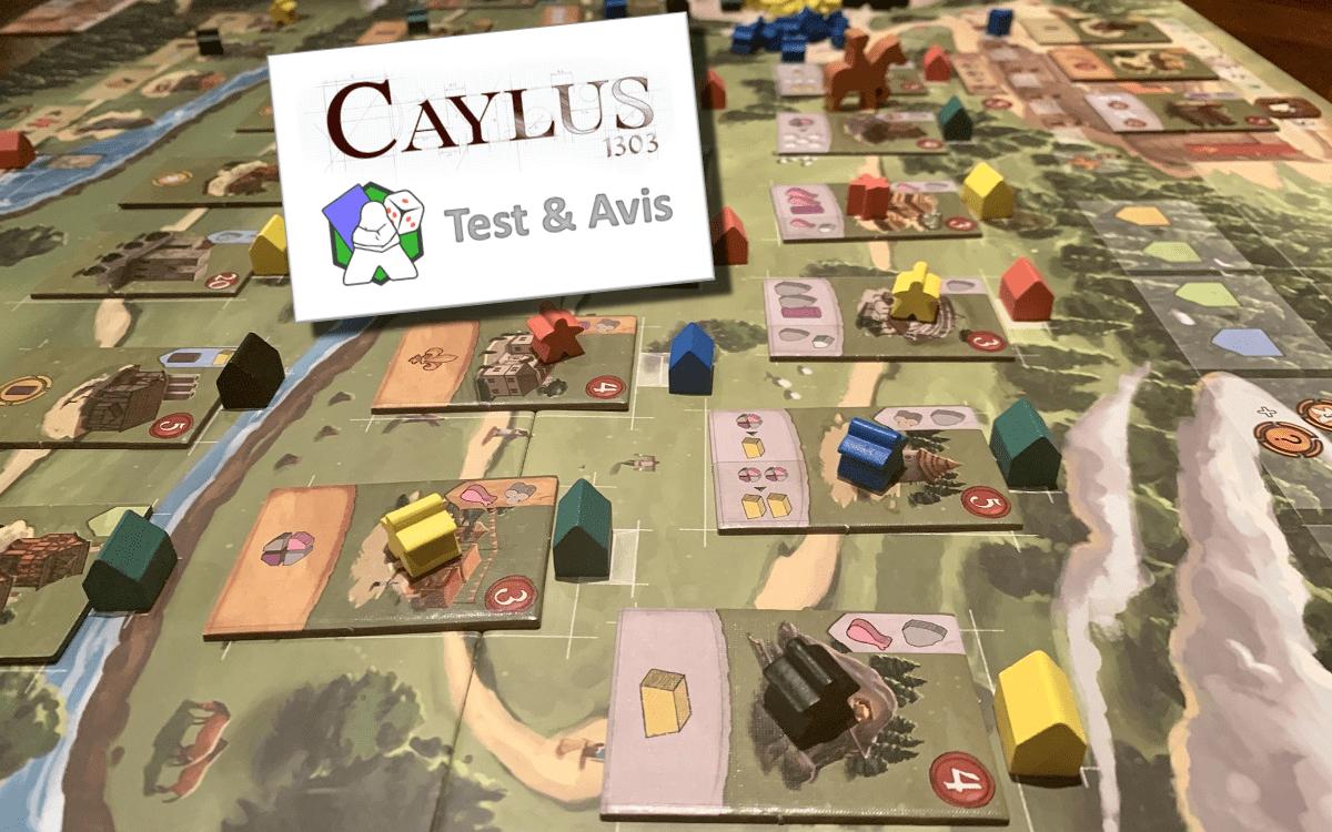 Caylus 1303 - Test & Avis - Le Ludopathe