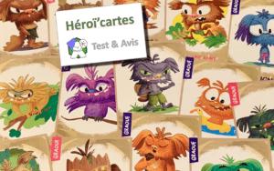 Héroï'cartes : L'aventure en culottes courtes - Test & Avis