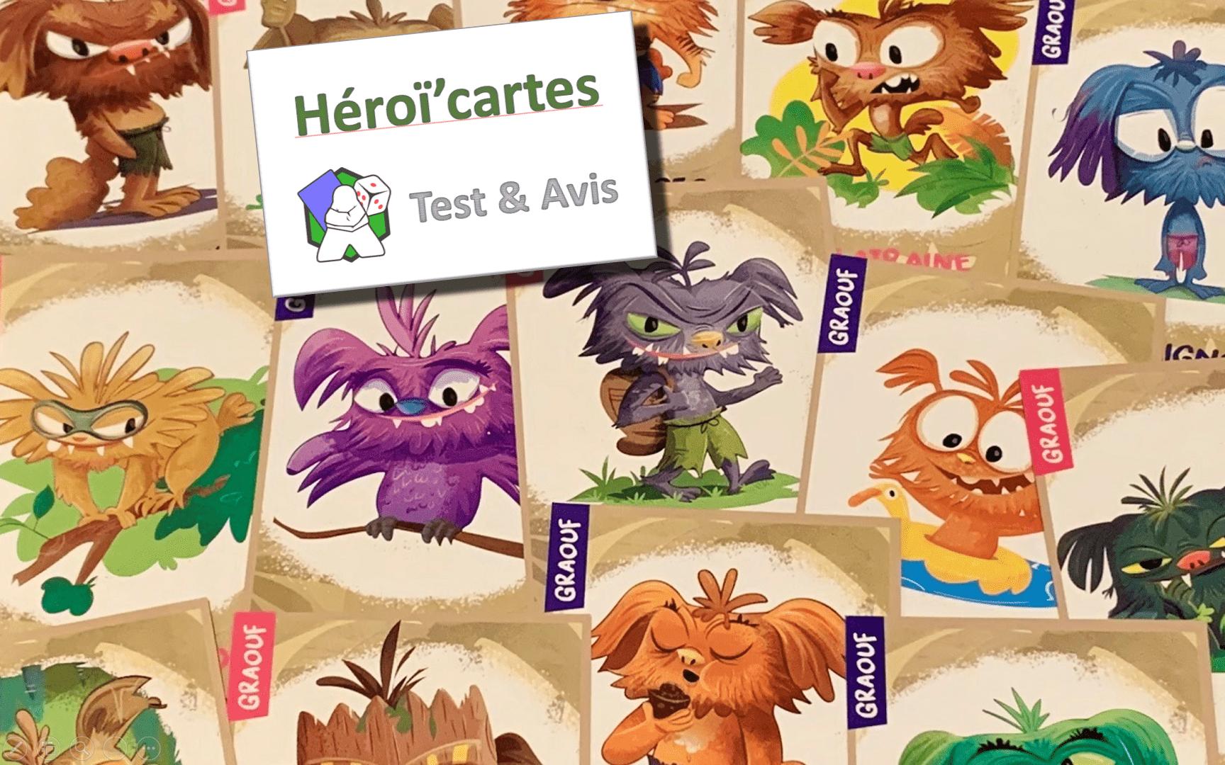 Héroï'cartes - Test & Avis