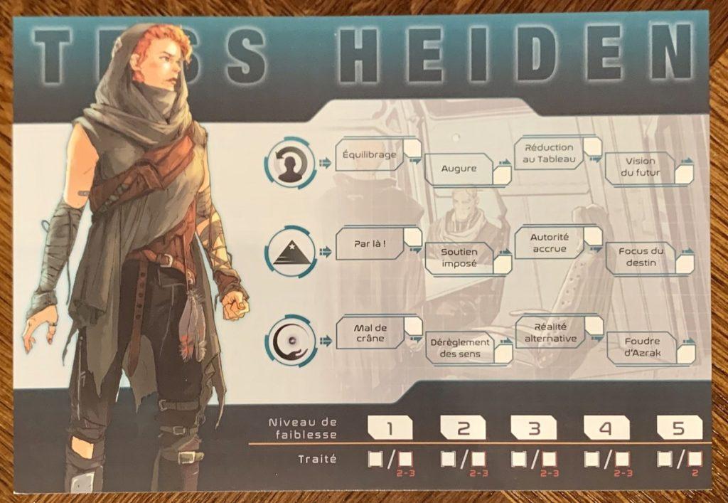 Les Capacités de Tess Heiden