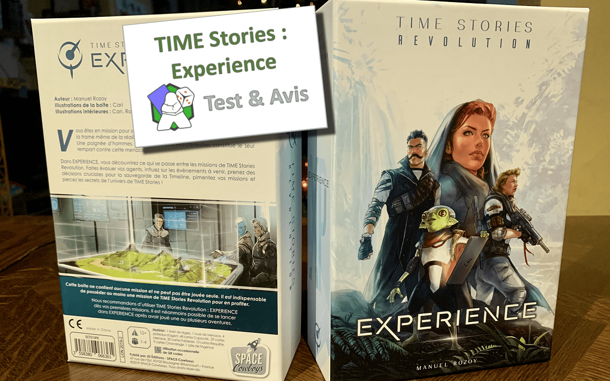 TIME Stories Revolution : Experience