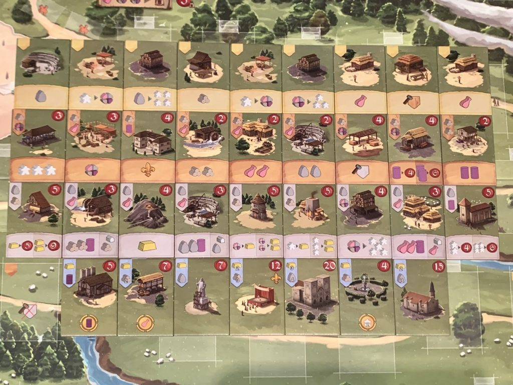 Tous les bâtiments de Caylus 1303