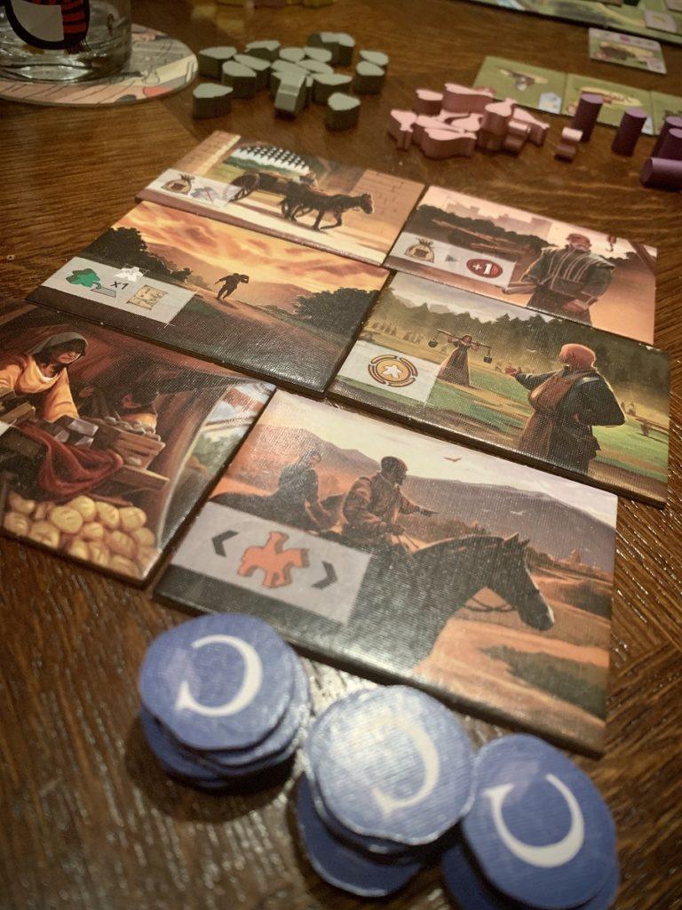 Un joueur avec 6 Personnages