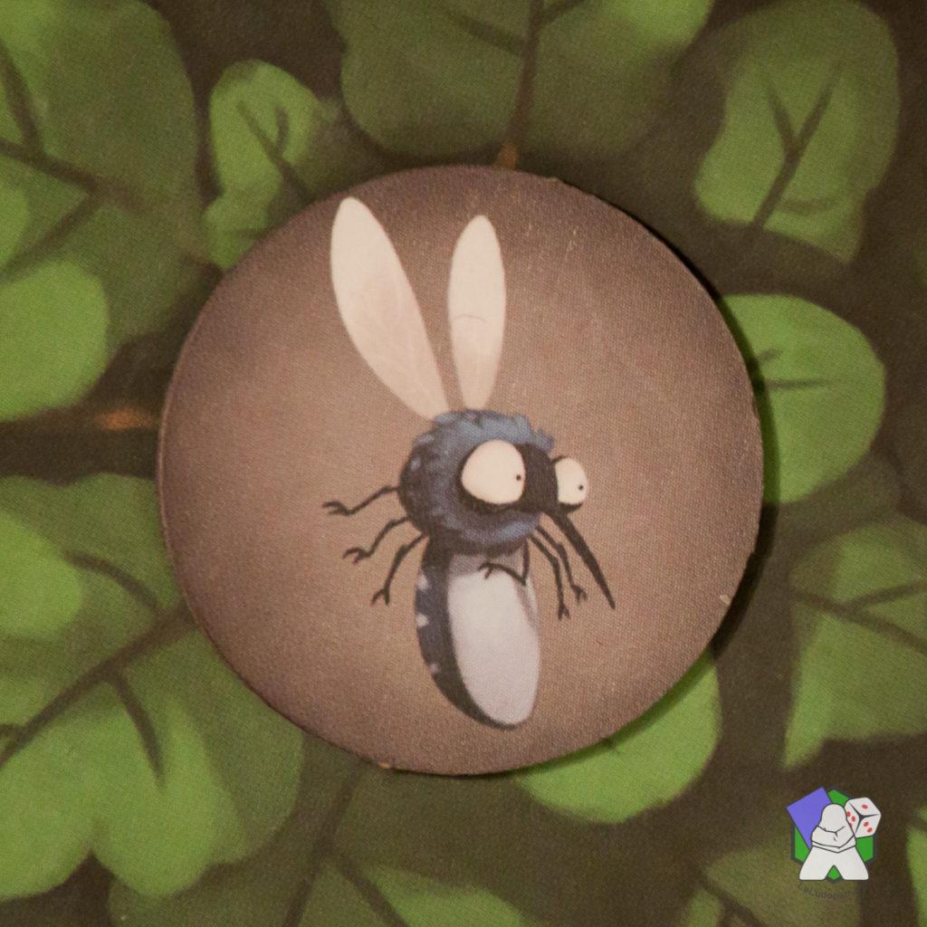 Moustique gris : déplacez un autre moustique