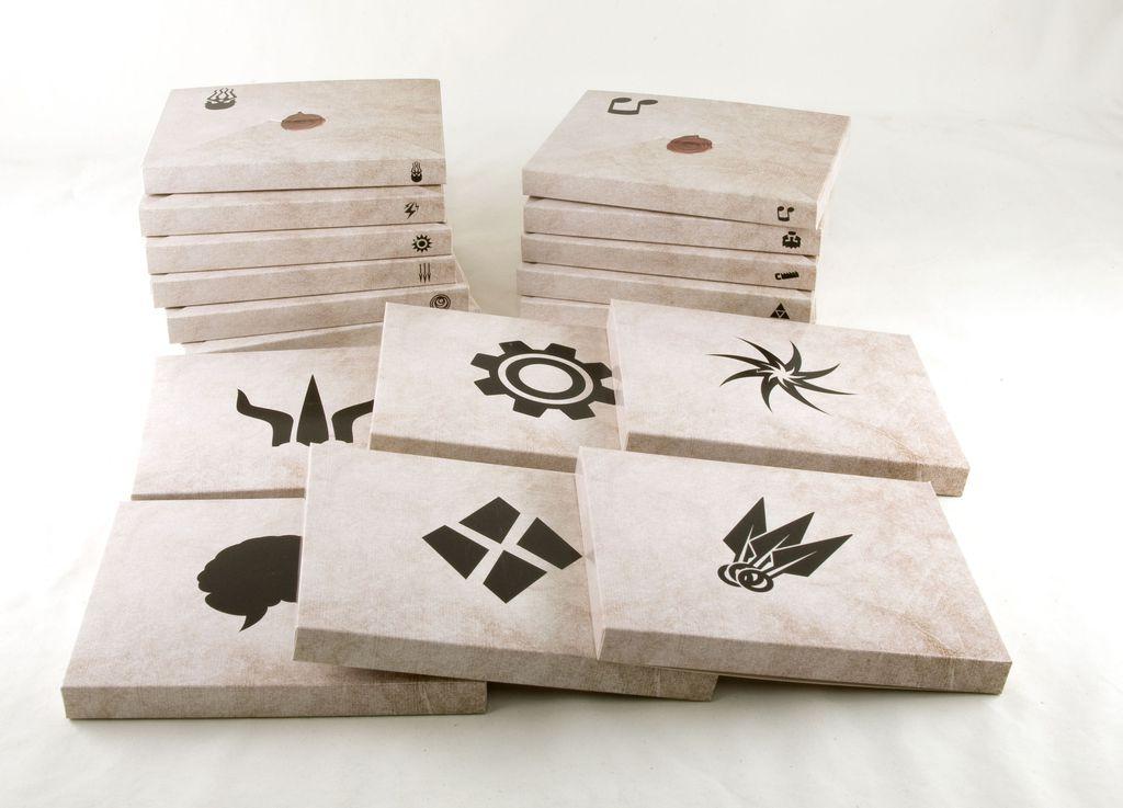 Les boîtes des personnages à incarner