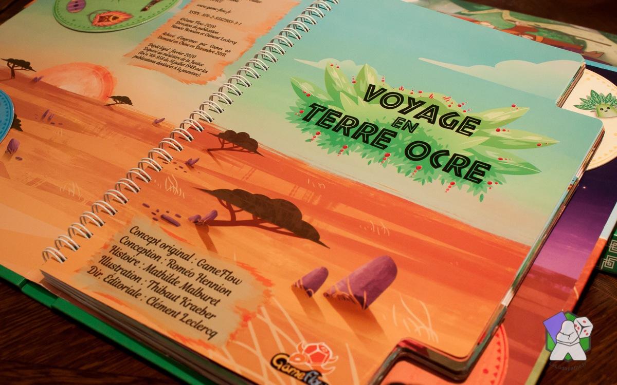 Ma Première Aventure : Voyage en Terre Ocre
