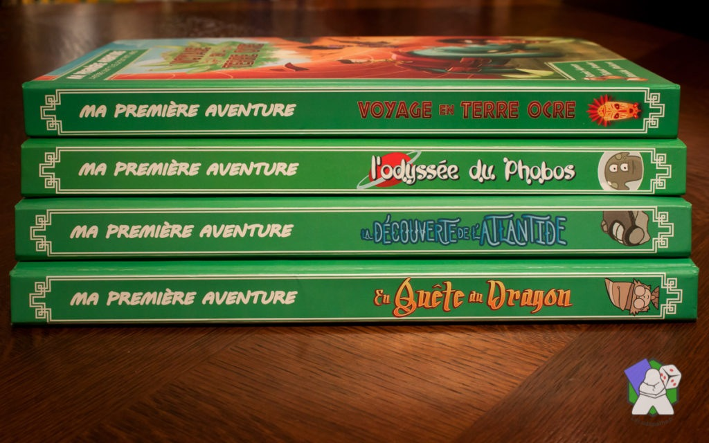 Ma première Aventure : les 4 premiers tomes