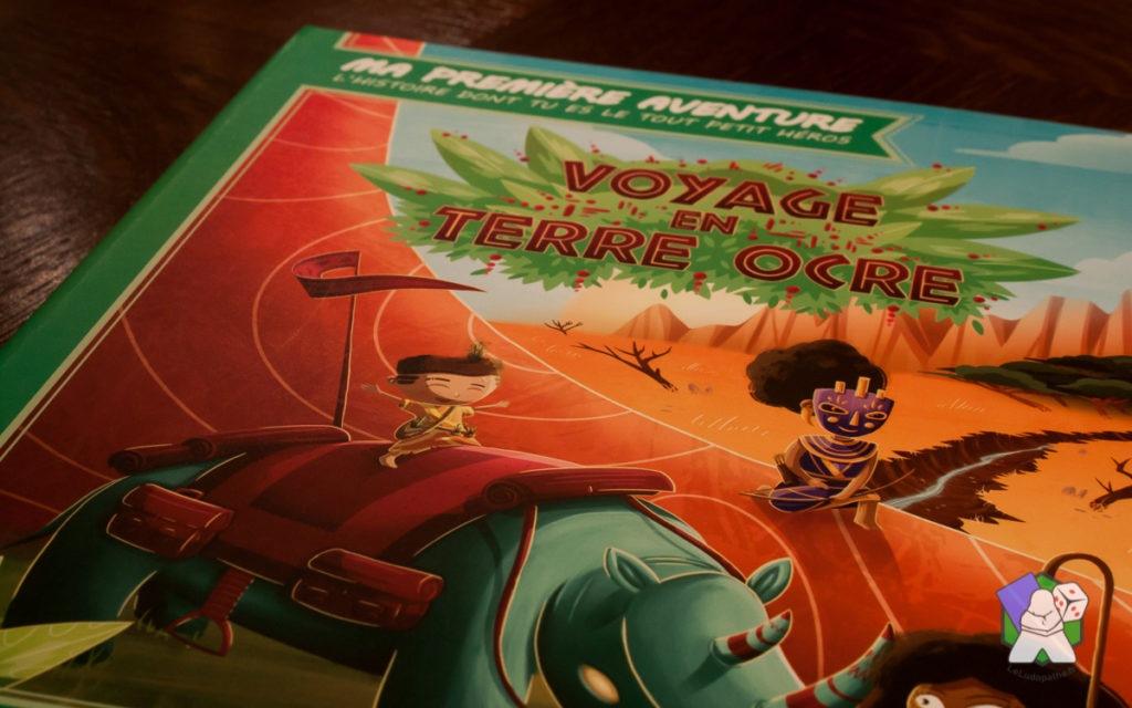 Ma Première Aventure : Couverture du livre Voyage en Terre Ocre