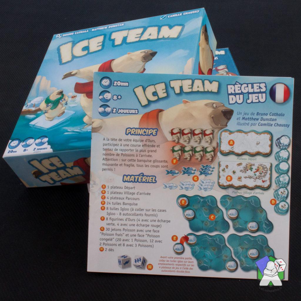 Les règles d'Ice Team