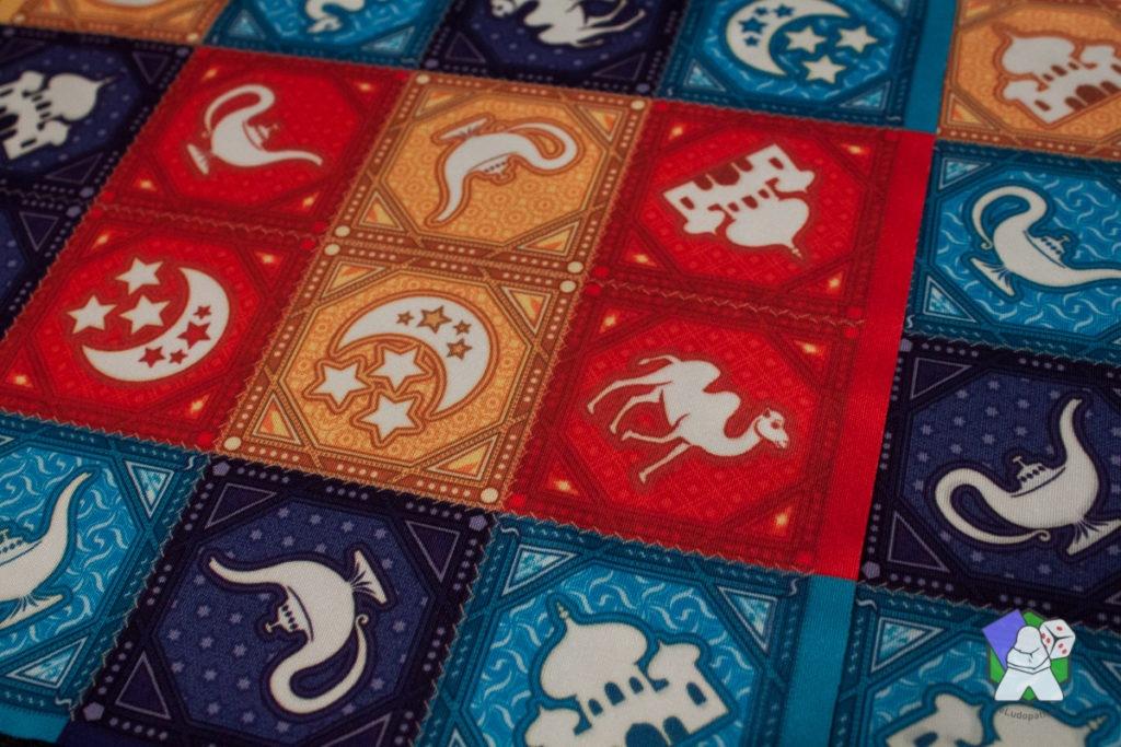 Les motifs des tapis de Magic Fold