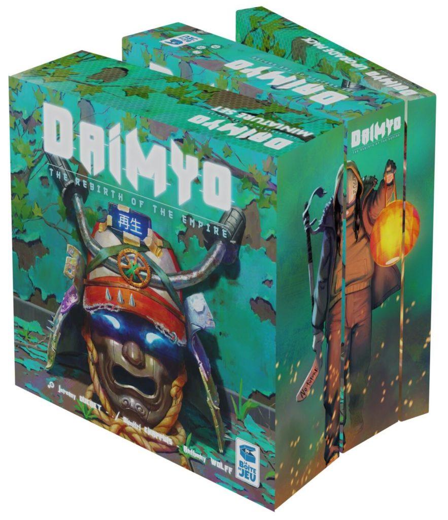 Les 3 boîtes de Daimyo