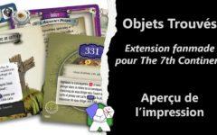 Objets Trouvés - Extension Fanmade pour The 7th Continent