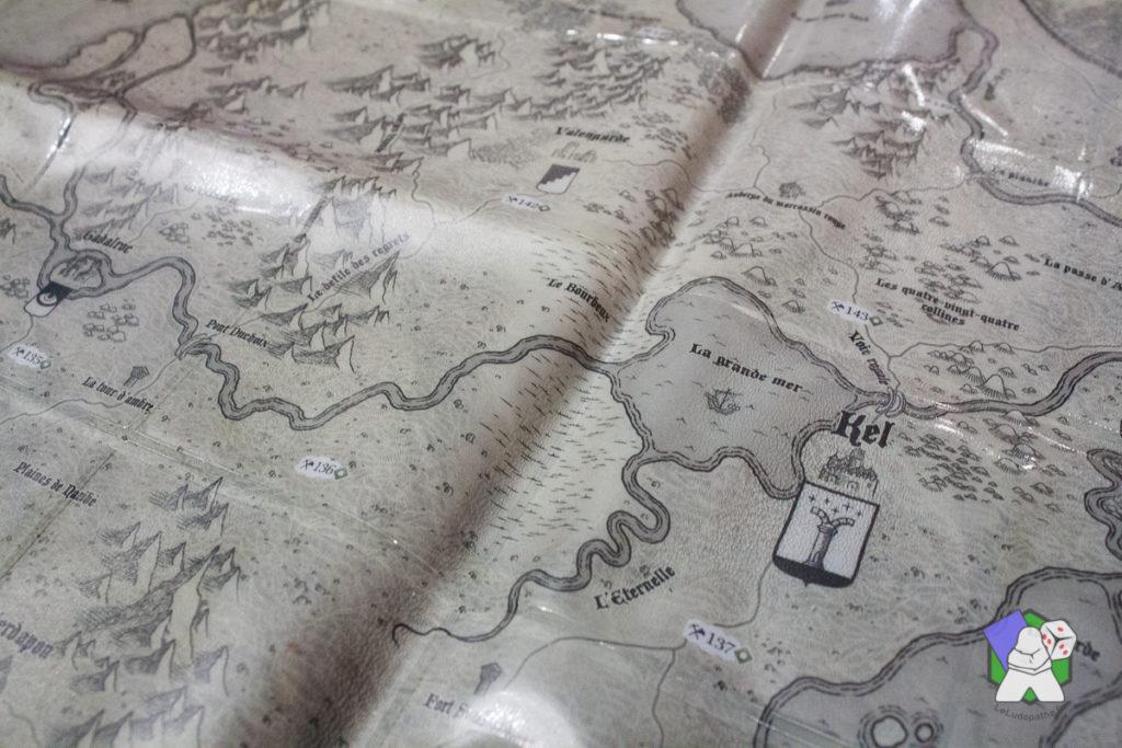 La mappemonde plastifiée de The 7th Continent