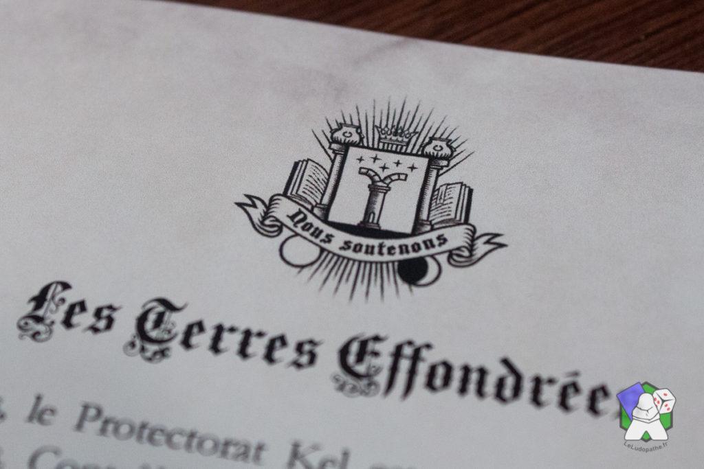 """Le Protectorat Kel et sa devise """"Nous soutenons"""""""