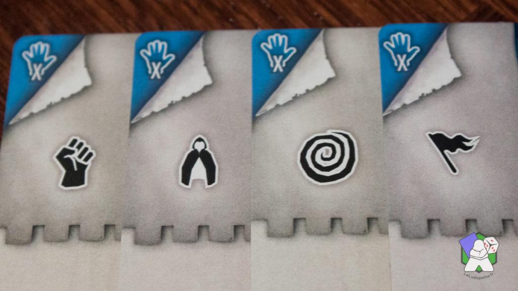 Les 4 icônes de classes de The The 7th Citadel
