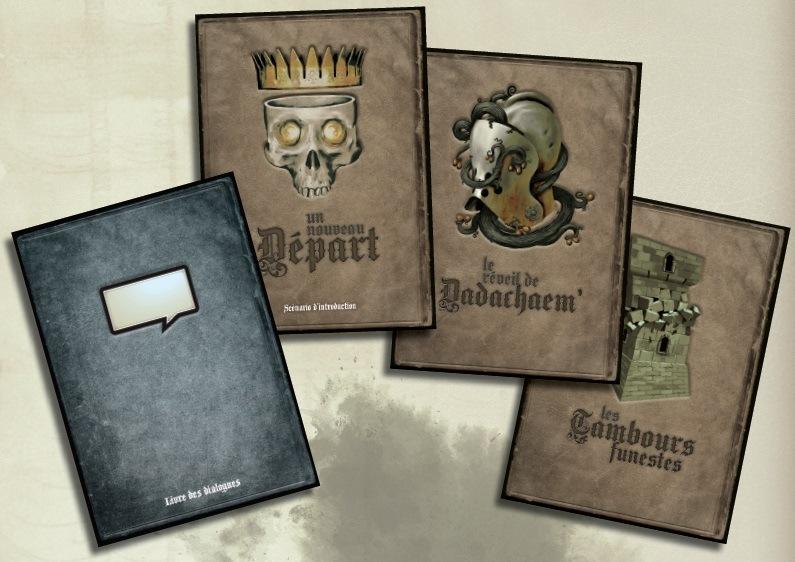 Les livrets de The 7th Citadel