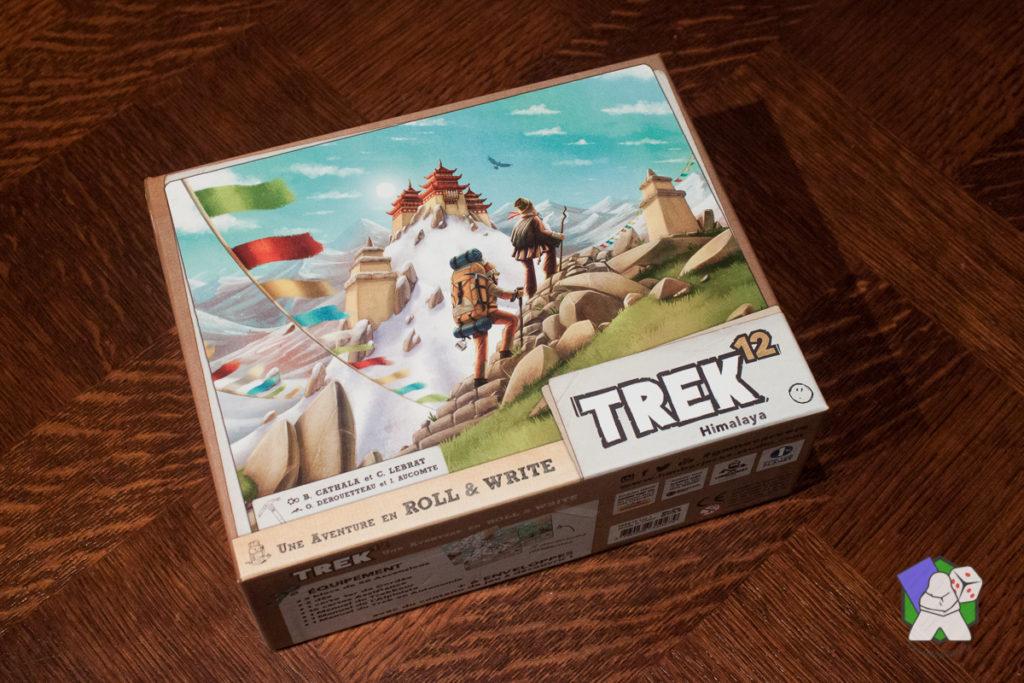La boîte de Trek 12 et sa belle illustration de couverture