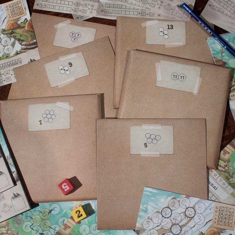 Les Enveloppes secrètes de Trek 12