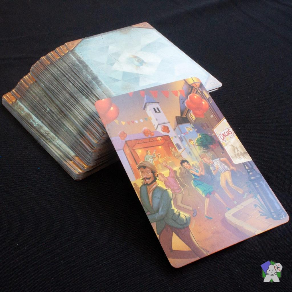 Le paquet de 100 cartes