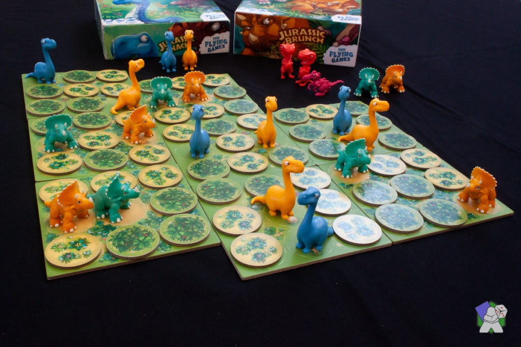 Jurassic Brunch + Jurassic Snack = 4 joueurs !