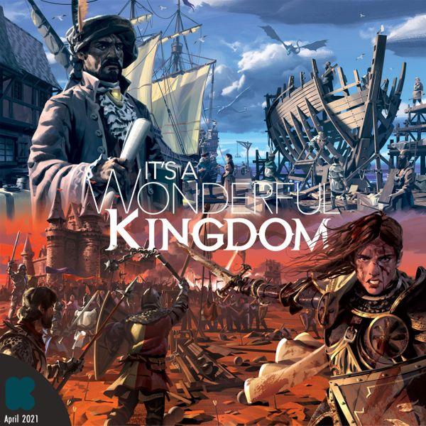 Couverture de la boîte de It's a Wonderful Kingdom