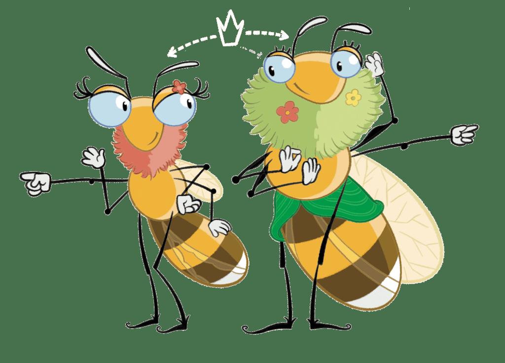 Bizzou et Bizzcotte veulent devenir reine